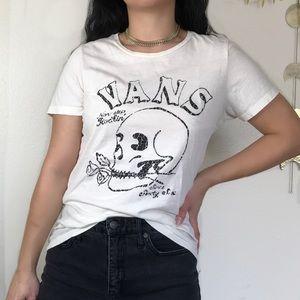 Vans Non-Stop Rockin' Skull Graphic Tee